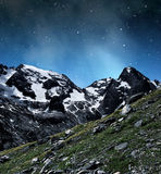 Marmolada peak Royalty Free Stock Images