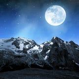 Marmolada peak Royalty Free Stock Photo