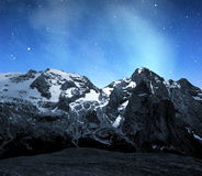 Marmolada peak Stock Photography