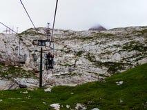 Marmolada, Włochy Zdjęcia Royalty Free