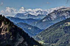 Marmolata/马尔莫拉达山,北部面孔 免版税图库摄影