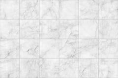 Marmor belägger med tegel sömlös durktextur för bakgrund och design Royaltyfria Bilder