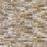 Marmor belägger med tegel (väggen) sömlös durktextur för bakgrund och design Royaltyfria Foton