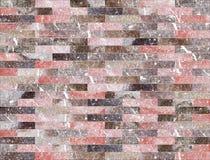 Marmor belägger med tegel (väggen) sömlös durktextur för bakgrund och design Royaltyfria Bilder