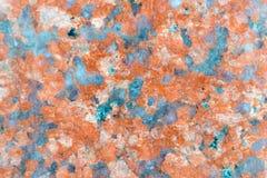 Marmor bryner stenen, terrazzoen, mönstrad texturbakgrund Arkivbilder