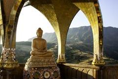 Marmor Budda Royaltyfria Bilder