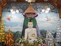 Marmor-Buddha. Lizenzfreies Stockfoto