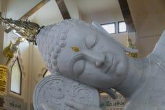 Marmor-Buddha-Kopf Lizenzfreies Stockbild