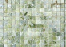 Marmor deckt Muster mit Ziegeln Stockbild