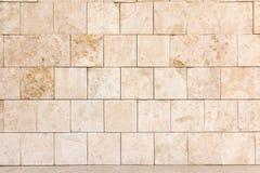 Marmor deckt Wand mit Ziegeln Lizenzfreie Stockfotografie