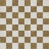 Marmor deckte checkered Fußboden mit Ziegeln   Stockfotos