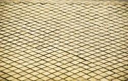 Marmor deckte Oberfläche mit Ziegeln Lizenzfreie Stockfotos