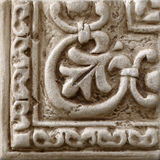 Marmor dekorerade bakgrundstegelplattor, mosaik royaltyfri bild