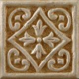Marmor dekorerade bakgrundstegelplattor, mosaik Royaltyfria Bilder