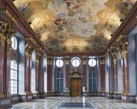 Marmor Hall av den Melk abbotskloster Royaltyfria Bilder