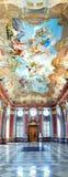 Marmor Hall av kloster i Melk Fotografering för Bildbyråer
