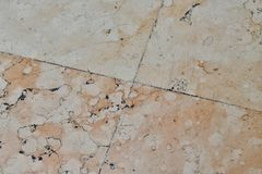 Marmor kopierter Bodenhintergrund Stockbilder