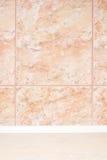 marmor tiles väggen Arkivfoto