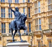 Marmor und in der alten Stadt von London England Lizenzfreie Stockbilder