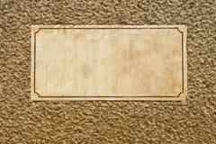 Marmor-und Granit-Zeichen Lizenzfreies Stockbild