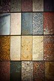 Marmor und Keramikfliesen lizenzfreie stockfotografie