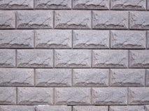 MarmorBacksteinmauer Stockfotografie