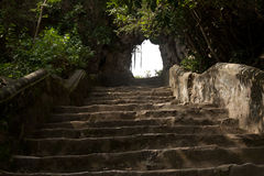 Marmorberge nahe Danang, Vietnam stockfoto