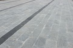 Marmorbodenbelag als Fußweg Stockfotografie