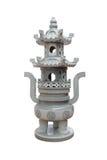 Marmorbrännugn för traditionell kines Arkivfoto
