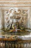 Marmorbrunnen Stockfoto