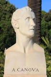 Marmorbyst av skulptören Antonio Canova Royaltyfria Bilder