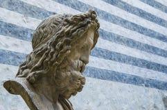 Marmorbyst av Zeus Royaltyfria Bilder