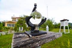 MarmorCampbell Stokes Recorder temperatur Royaltyfri Fotografi
