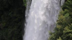 Marmore della cascata archivi video
