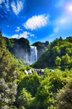 Marmore's falls, Italy Royalty Free Stock Image