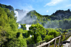 Marmore's falls, Italy Stock Photography