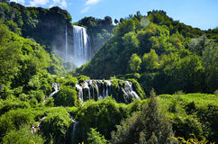 Marmore's falls, Italy Stock Image