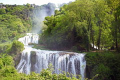 Marmore's Falls, Umbria, Italy Stock Photos