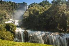 Marmore-` s Wasserfälle Stockfoto