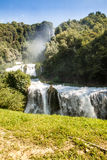 Marmore`s waterfalls Royalty Free Stock Photography