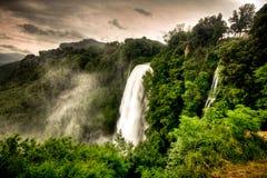 Marmore Wasserfälle Lizenzfreies Stockbild