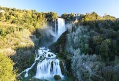 Marmore-Wasserfall Lizenzfreie Stockbilder