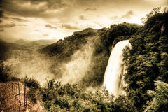 Marmore waterfalls Royalty Free Stock Photography