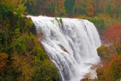 Marmore waterfalls, Italy Stock Photo