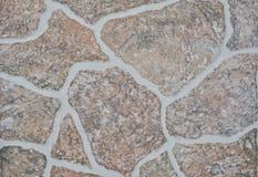 Marmorera m?nstrad texturbakgrund i naturlig m?nstrad abstrakt marmor som ?r rosa arkivbild