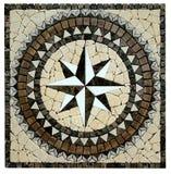 Marmorera mosaisk texturbakgrund Royaltyfria Bilder