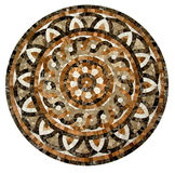 Marmorera mosaisk texturbakgrund Arkivbilder