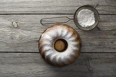 Marmorera tårtan Arkivfoto