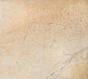 Marmorera textur, belägga med tegel, däcka, väggen, hemmet, byggnadsmaterial, varm färg, ockran, panelen, designen, bakgrund, bak Royaltyfri Bild