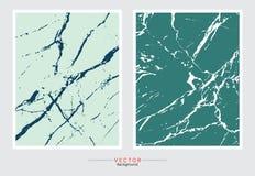 Marmorera texturbakgrund, abstrakt begreppformer och pastellfärgade färger för kort royaltyfri illustrationer